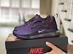 Женские кроссовки Nike Air Max 720 (фиолетовые) 8946, фото 2