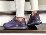 Женские кроссовки Nike Air Max 720 (фиолетовые) 8946, фото 3