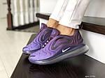 Женские кроссовки Nike Air Max 720 (фиолетовые) 8946, фото 4