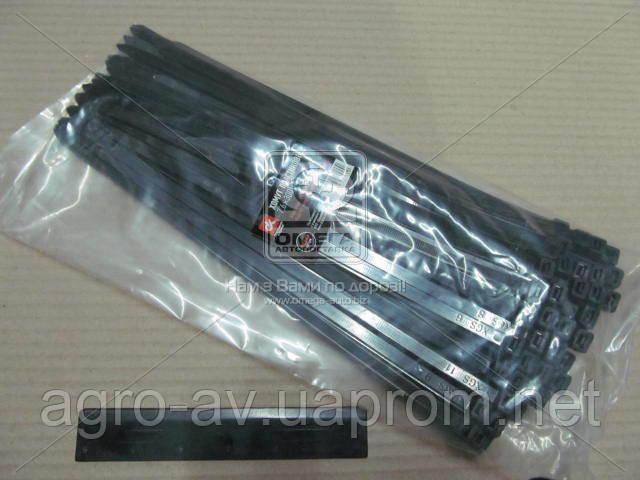 Хомут пластиковый (DK22-7.6х300BK) 7.6х300мм. черный 100шт./уп. <ДК>