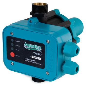 Контроллер давления Aquatica DSK1.1  1,1кВт с вилкой 779537