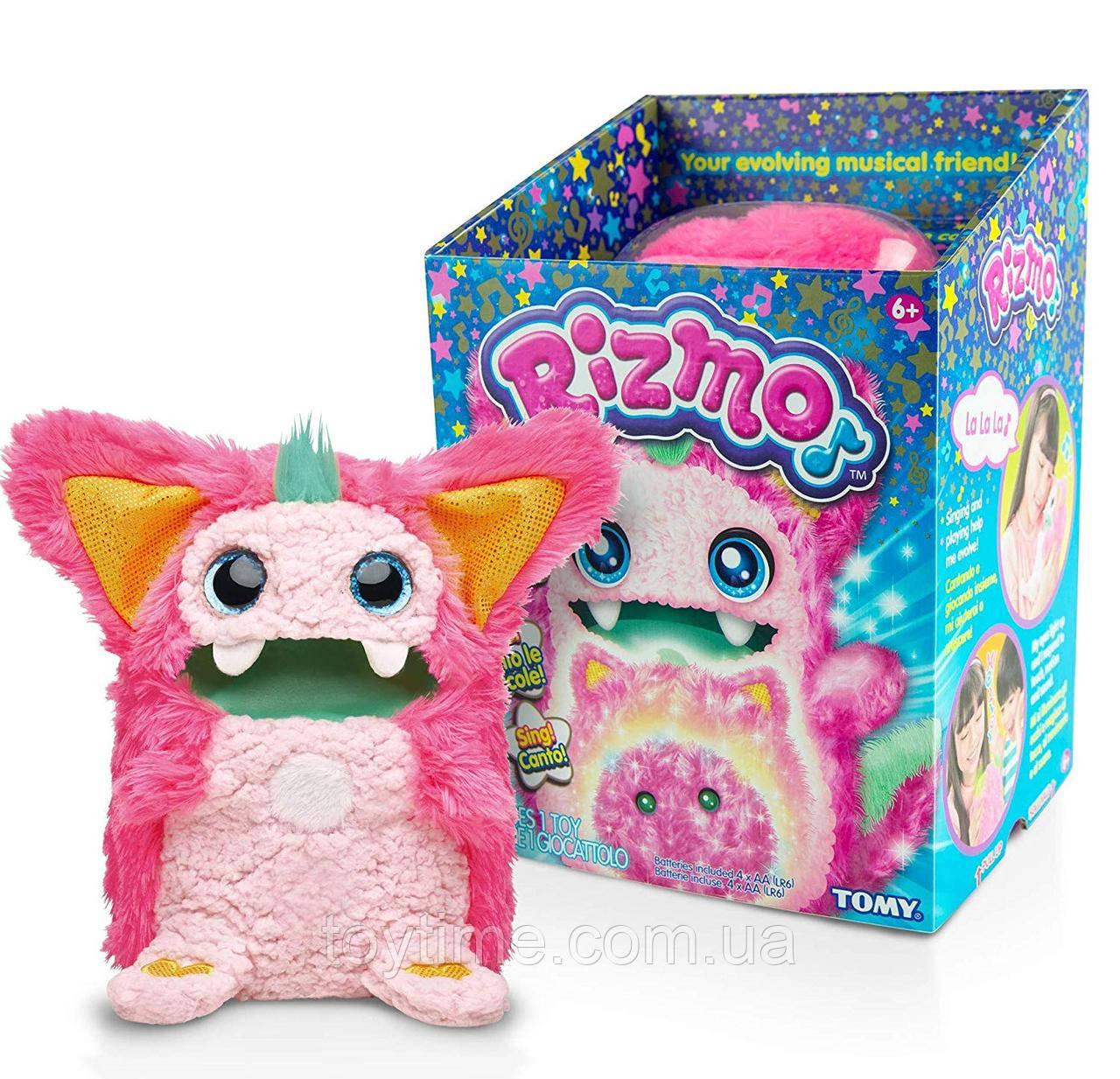 Интерактивная игрушка Rizmo Berry от Tomy (розовый) / Rizmo Evolving Musical Friend Interactive Plush Toy