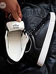 Мужские кроссовки Philipp Plein (черные) 076PL, фото 3