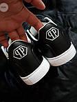 Мужские кроссовки Philipp Plein (черные) 076PL, фото 5