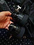 Мужские кроссовки Gucci (черные) 070PL, фото 3