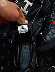 Мужские кроссовки Gucci (черные) 070PL, фото 7