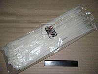 Хомут пластиковый (DK22-7.6х400WT) 7.6х400мм. белый 100шт./уп. <ДК>