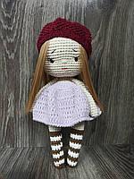 Вязаная кукла тильда  ручная работа
