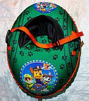 Детские овальные надувные санки Щенячий патруль 100 см