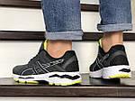 Мужские кроссовки Asics GT1000 (серо-салатовые) 8955, фото 3