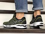 Мужские кроссовки Asics GT1000 (темно-зеленые) 8958, фото 3