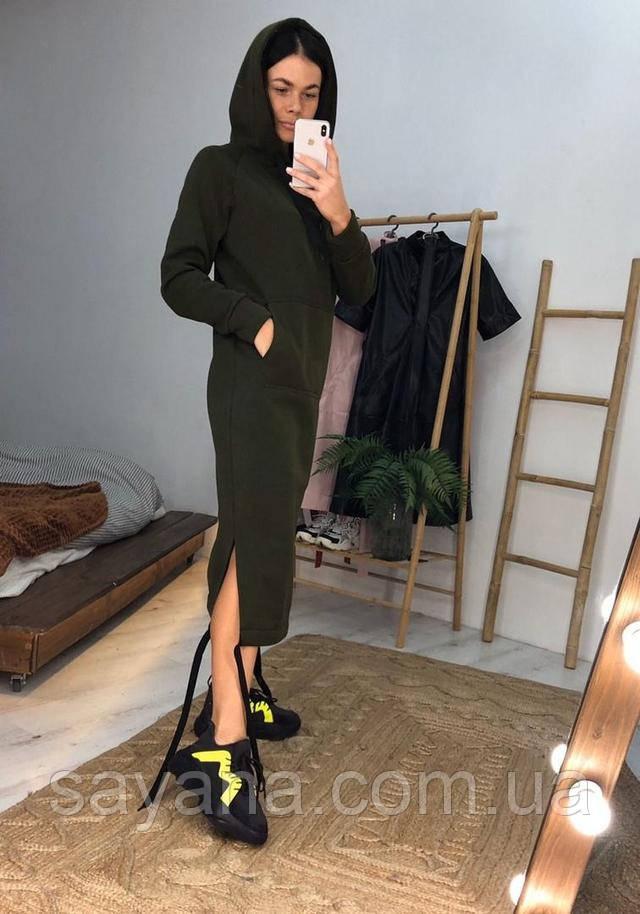 жеское платье-худи интернет