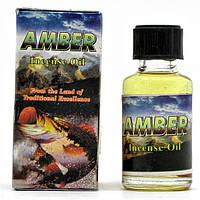 "Ароматическое масло ""Amber"" (8 мл)(Индия) ( 20492)"