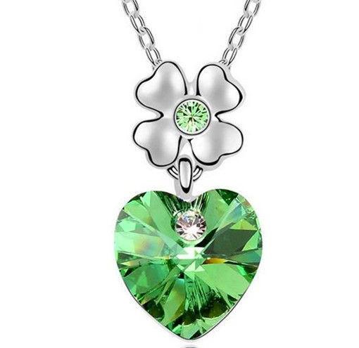 Яркий медальон кулон ожерелье подвеска QQ5 кулончик амулет оберег талисман украшение колье Сердце на цветочке