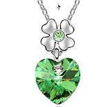 Яркий медальон кулон ожерелье подвеска QQ5 кулончик амулет оберег талисман украшение колье Сердце на цветочке, фото 2