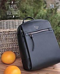 Городской женский рюкзак David Jones, черный / жіночий рюкзак