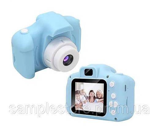 Детский фотоаппарат gm 14 голубой