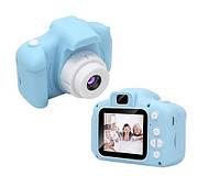 Детский фотоаппарат gm 14 голубой, фото 1
