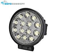 Робоча Фара LED 42W/60° (14x3W, 3080 lm, широкий промінь 60°) 14 ламп