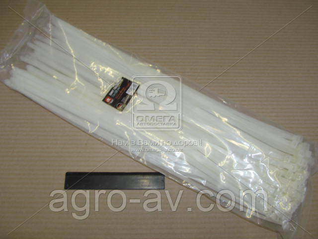Хомут пластиковый (DK22-7.6х500WT) 7.6х500мм. белый 100шт./уп. <ДК>