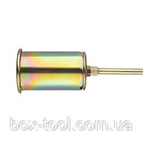 Горелка газовая с регулятором и клапаном 715мм, сопло 125мм, Ø60мм. INTERTOOL GB-0046, фото 3