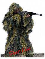 Маскировочный костюм для снайпера (Маскхалат)  Ghille Parka MIL-TEC Woodland 11962120