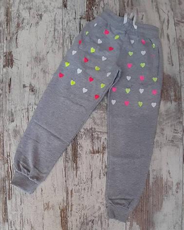 Подростоковые спортивные штаны для девочки р. 9-12 лет опт, фото 2