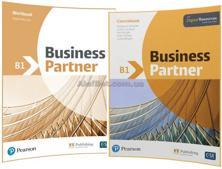 Английский язык / Business Partner / Coursebook+Workbook. Учебник+Тетрадь (комплект), B1 / Pearson