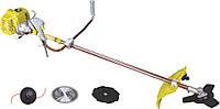 Бензокоса Eltos БГ-5500 3 ножа + шпуля с леской. Триммер