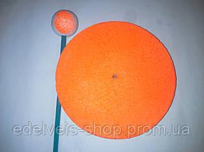 Кружок оснащенный рыболовный пенопластовый на щуку d15(леска.оливка.поводок стальной.тройник), фото 2