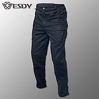 """🔥 Тактические штаны-брюки """"Esdy. IX9"""" (черные) штаны, для полиция, полиции, милитари, боевые, карго"""