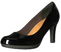 Туфли женские лаковые черные Clarks. Оригинал. Размер 38