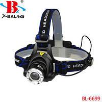 Налобний ліхтар Bailong Police BL-6699-T6