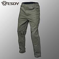 """🔥 Тактические штаны-брюки """"ESDY. IX9"""" (олива) штаны, нацгвардии, всу, милитари, боевые, карго"""