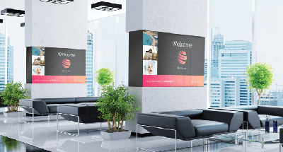 Интерактивная видеовитрина BrightSign для инновационной видеорекламы