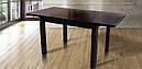 Стол Классик Люкс ваниль 120(+40+40)*80 обеденный раскладной деревянный, фото 10