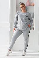 Спортивный костюм женский весенний батал 48-50, 52-54, 56-58, 60-62 размер Новинка есть цвета
