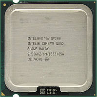 Процессор, Intel Core 2 Quad q9300, 4 ядра, 2.5 гГц