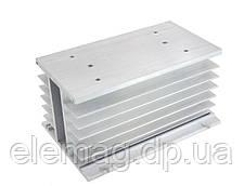 150*100*80 мм Алюмінієвий радіатор під трифазне твердотільне реле