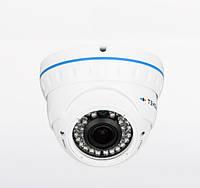 Видеокамера AHD купольная Tecsar AHDD-2M-30V-out