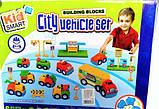 Ігровий набір з машинками будівельна техніка розбирається/збирається Kid Smart, фото 2