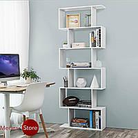 Полка для книг, стеллаж для дома, книжная полка, этажерка G0056