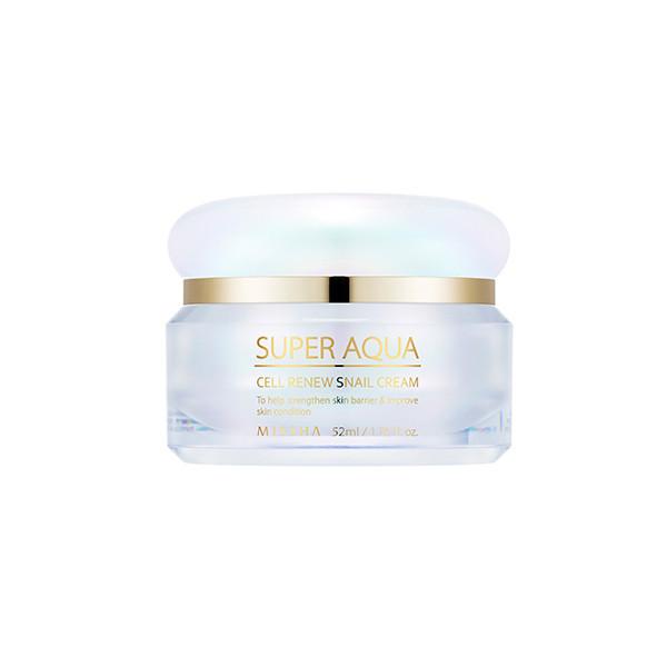 Регенерирующий крем для лица MISSHA Super Aqua Cell Renew Snail Cream, 47 мл