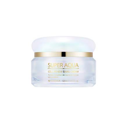 Регенерирующий крем для лица MISSHA Super Aqua Cell Renew Snail Cream, 47 мл, фото 2
