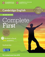 Complete First Second Edition Student's Book with answers and CD-ROM and Class Audio CDs / Учебник с дисками