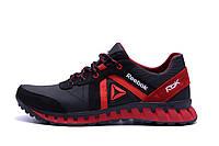Мужские кожаные кроссовки  Reebok SPRINT TR  Red (реплика), фото 1