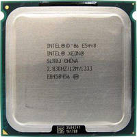Процессор, Intel Xeon e5440, 4 ядра, 2.83 гГц