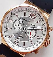 Часы ULYSSE NARDIN MAXI MARINE chronograph, фото 1