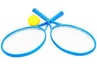"""Игрушка """"Детский набор для игры в теннис ТехноК"""" Голубой"""