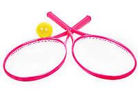 """Игрушка """"Детский набор для игры в теннис ТехноК"""" Розовый"""